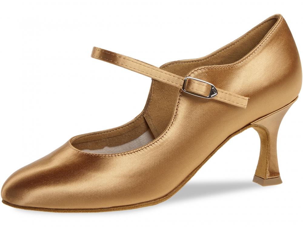 67e5aee419f Diamant Standard dámská taneční obuv tělový satén