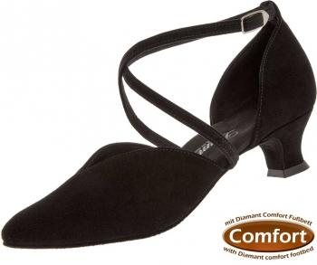 Diamant Standard comfort dámská taneční obuv černý semiš empty c9b01a6fdd