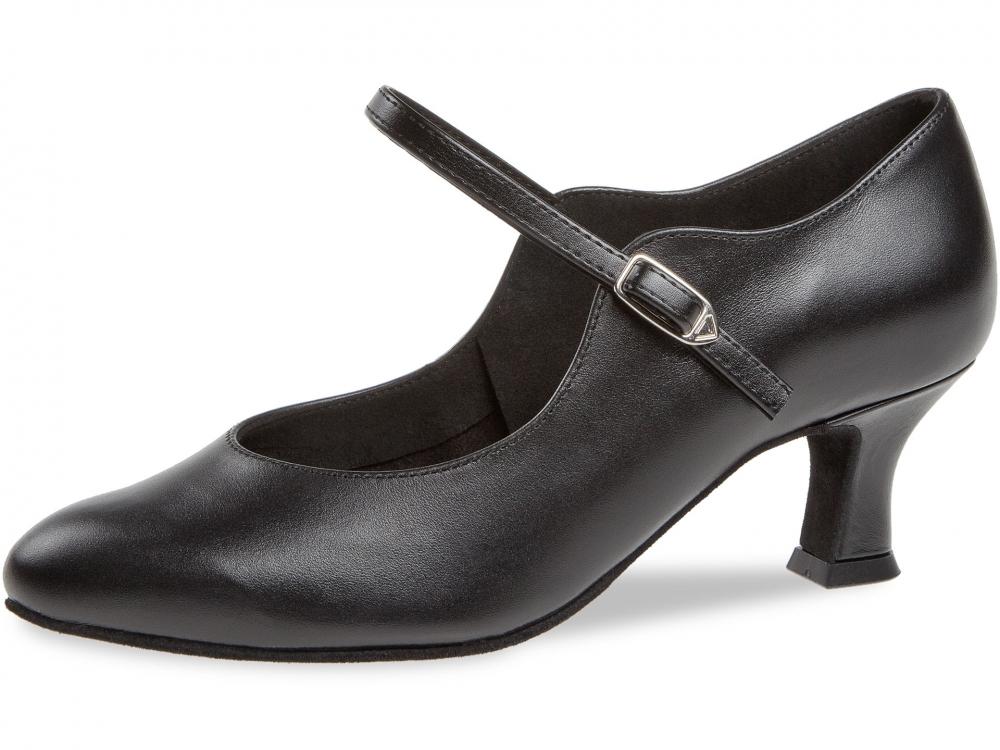 37c97a1849853 Diamant Standard dámská taneční obuv černá kůže, 5 cm empty